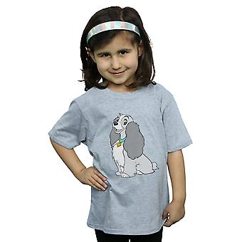 Disney Girls Lady And The Tramp Classic Lady T-Shirt