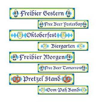 Oktoberfest segno estirpare - confezione da 4