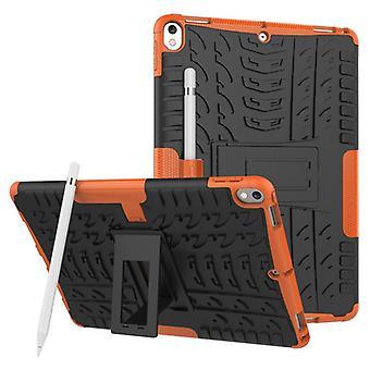 Hybrid Outdoor Schutzhülle Case Orange für Apple iPad Pro 10.5 2017 Tasche