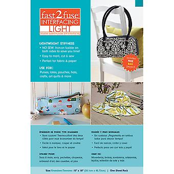 Fast2fuse Fusible Interfacing Light-15