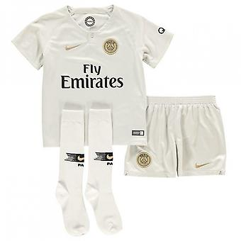 2018-2019 PSG Away Nike Boys Mini Kit