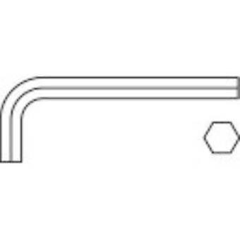 Allen Allen key TOOLCRAFT 2.5 mm