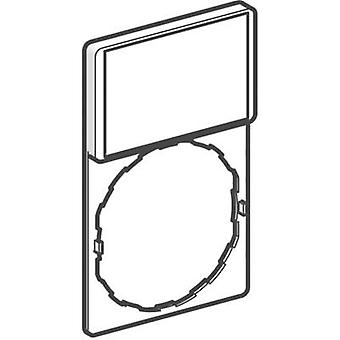 Titular + etiqueta de la etiqueta (L x W) de 30 x 40 mm en blanco blanco, amarillo Schneider Electric ZBY4101 1 PC