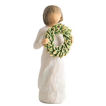 Willow Tree Magnolia Hand Painted Figurine