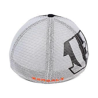 Cincinnati Bengals NFL 47 Brand Mesh Closer Stretch Fitted Hat
