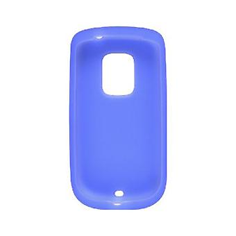 Wireless Solutions Silicone Gel Case for HTC Hero PCD ADR6250 - Ocean Blue