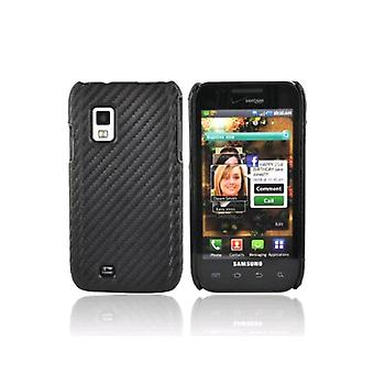Verizon Snap-On Case for Samsung Galaxy S Fascinate i500 (Graphite Black)