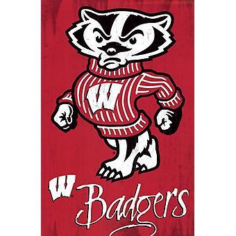 University of Wisconsin - Logo 13 Poster Print