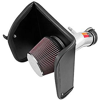 K&N Performance Air Intake Kit 77-3089KP with Polished Metal Tube and Lifetime Red Oiled Filter for Chevrolet Colorado,