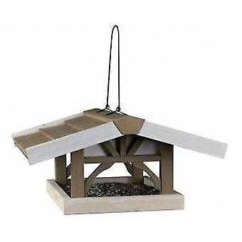 Trixie Feeder Natura, Anhunger, 46x22x44cm, Gris_Blanco