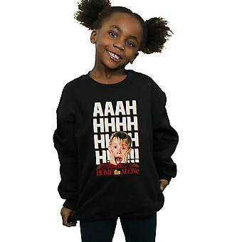Home Alone Girls AAAH Bold Sweatshirt