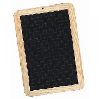 Giotto Schiefer Doppel doppelseitigen Holzrahmen schwarze Kreide Board ** ^