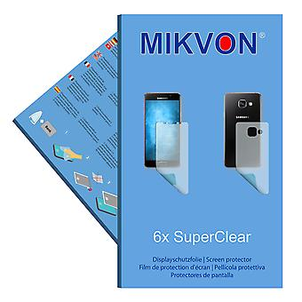 Samsung Galaxy A3 (2016) screen protector- Mikvon films SuperClear (3x FRONT / 3x BACK) (intentionally smaller than the display due to its curved surface)