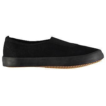 Slazenger Kids BTS Infants Slip On Shoes Canvas Pumps Comfortable Fit Everyday