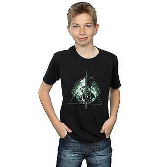 Fantastic Beasts Boys Dumbledore Vs Grindelwald T-Shirt