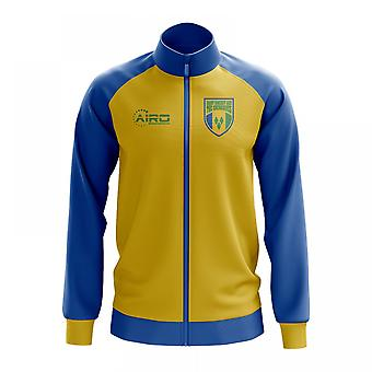 Saint Vincent and Grenadines Concept Football Track Jacket (Yellow)