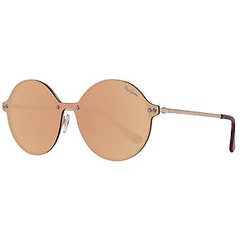 Pepe jeans metal sunglasses mirrored gold