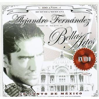 Alejandro Fernandez - Un Canto De Mexico: En Vivo [CD] USA import