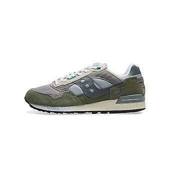 Saucony Saucony Grey & Green Shadow 5000 Sneaker