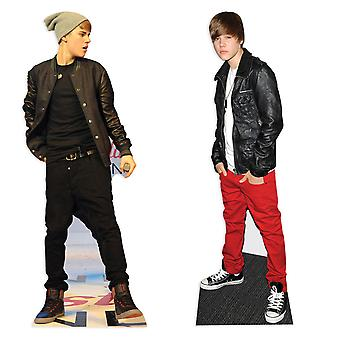 Justin Bieber Pop Star Set Lifesize Cardboard Cutout / Standee Set
