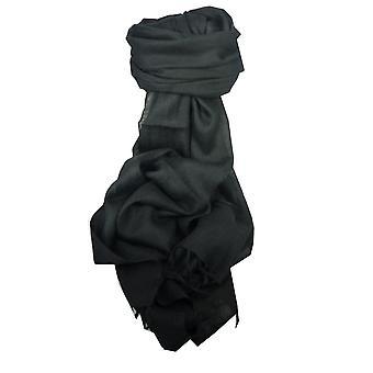Angora Loose Weave Pashmina Black by Pashmina & Silk