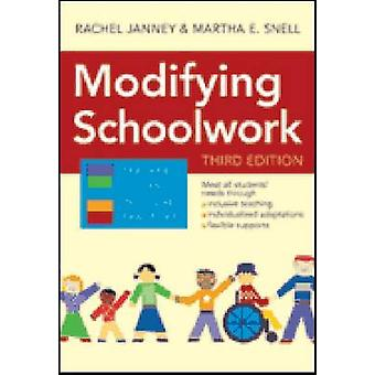 Modification des travaux scolaires (3e) par Rachel Janney - Martha E Snell - 978159