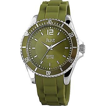 Just Watches 48-S3862-DGR-unisex wristwatch Carpenter Green