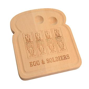 Egg and Soldiers Serving Board