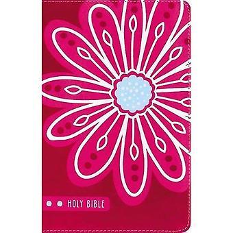 KJV Bibeln för barn, konstläder, rosa