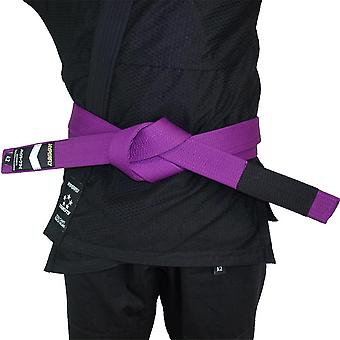 Hyperfly Deluxe BJJ Gi Belt Purple