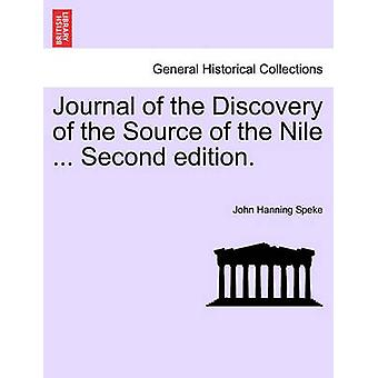 Journal of the Discovery of the Source of the Nile ... Second edition. by Speke & John Hanning