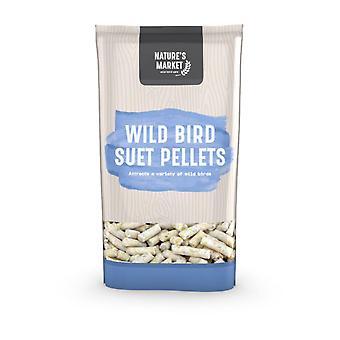 كيس 1 كجم (2.2 رطل) السوق طبائع الكريات الشحم تغذية غذاء الطيور البرية