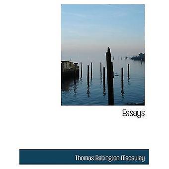 Essais de Macaulay & Thomas Babington