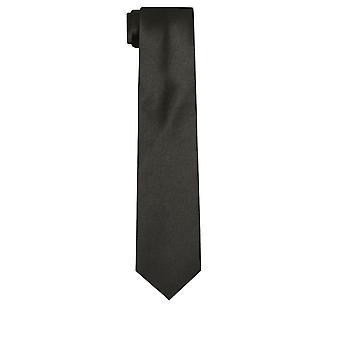 Dobell Mens svart slips Satin känna tyget arbete/bröllop halsduk