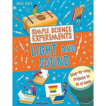 Eenvoudige wetenschap experimenten - licht en geluid door Chris Oxlade - 9781786