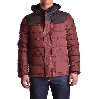 Duvetica Burgundy Nylon Outerwear Jacket