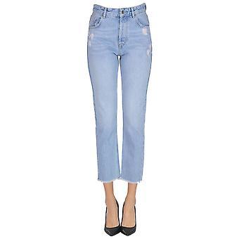 Liu Jo Light Blue Cotton Jeans