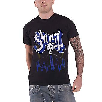 Ghost T Shirt Papa and Band Opus Band Logo Official Mens New Black