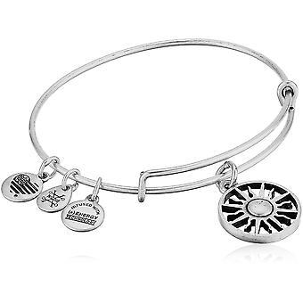 Alex et Ani Rising Sun Charm Bracelet jonc - Rafaelian Silver - extensible - A18EBRS01RS