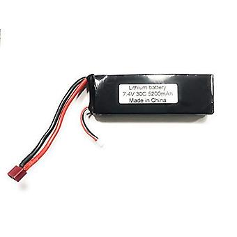 5200mAh 7.4V 30C 2S RC Lipo Battery Hard Case With Dean T Plug For RC Model Boat Truck Buggy RC Car Truck RC Hobby