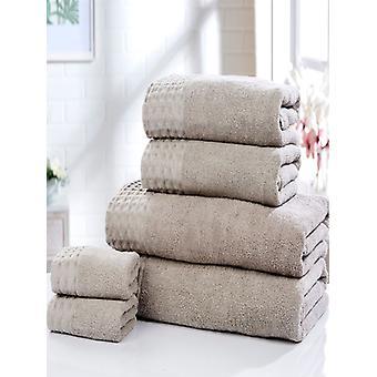 Retreat 6 Piece Towel Bale Latte