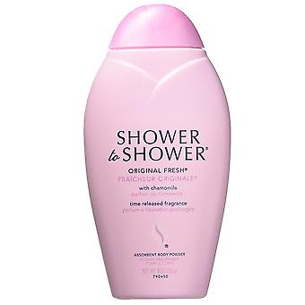 Shower to shower absorbent body powder, original fresh, 8 oz
