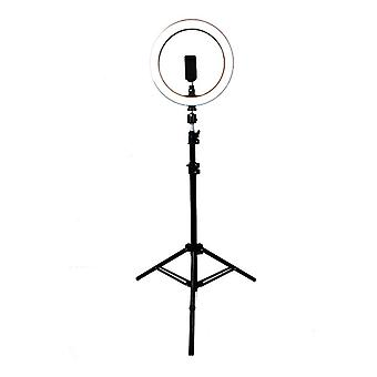 Selfie Lamp/Ring Light (26 cm), stand and four bracket