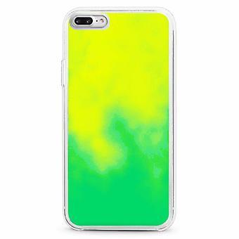 Fall CoolSkin flytande Neon TPU för iPhone 8/7/6 grön