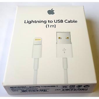 Coque original Apple câble de recharge de foudre MD818ZM/A pour iPad 5, 1 brillant x protection d'écran