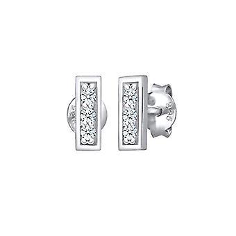 Elli Premium Silver Women's Pin Earrings