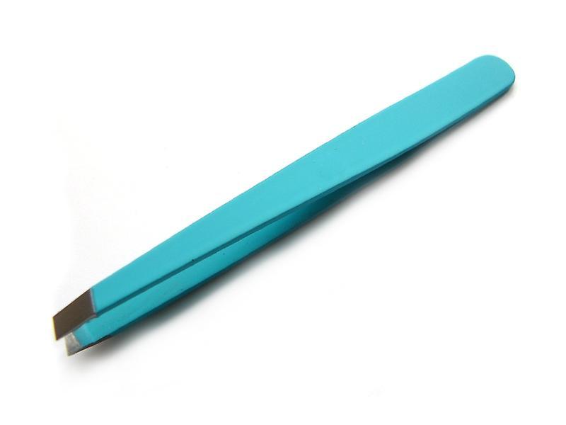 Slanted Tweezers Turquoise pCT-1