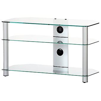 Elbe Furniture Tv Support Fixed Up to 40 '' Crystal Clear