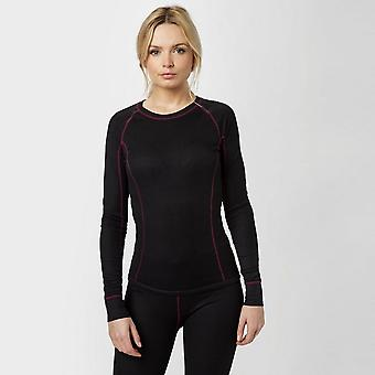 Black Alpine Women's Thermal Underwear Set