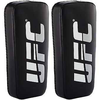 UFC Professional Standard Black Genuine Leather Thai Pads